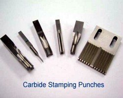 carbide stamping punches